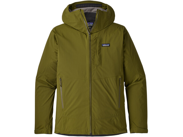 Patagonia Stretch Rainshadow Jacket Herre willow herb green